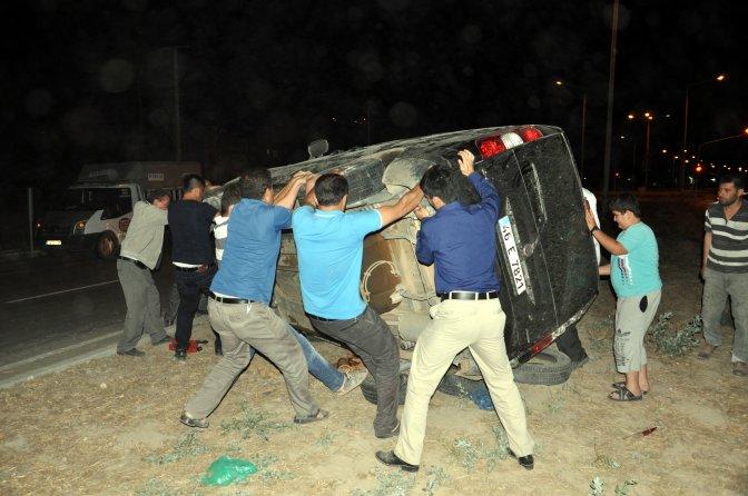 Elbistan'da trafik kazası: 5 yaralı