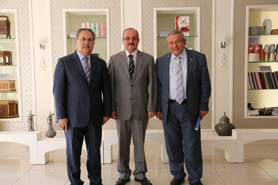 Koordinatör Vali ve Suriye Muhalifler Üyesi ziyarete geldi