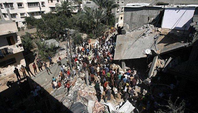 Gazze'de ölü sayısı 502'ye yükseldi
