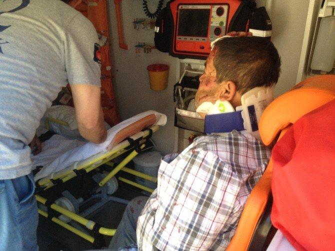 Yolcu Minibüsü Takla Attı: 9 Yaralı