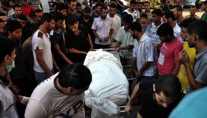 Gazze'de ölenlerin sayısı 718'e yükseldi