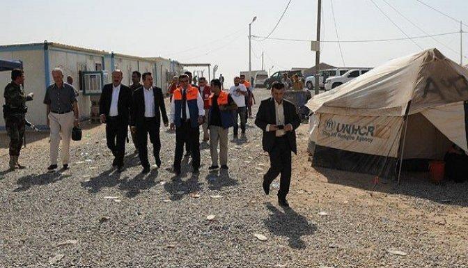 Türkmenlere 20 bin kişilik çadırkent