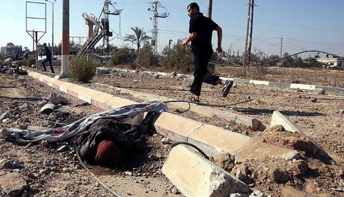 Gazze'de sokaklar ölüm kokuyor