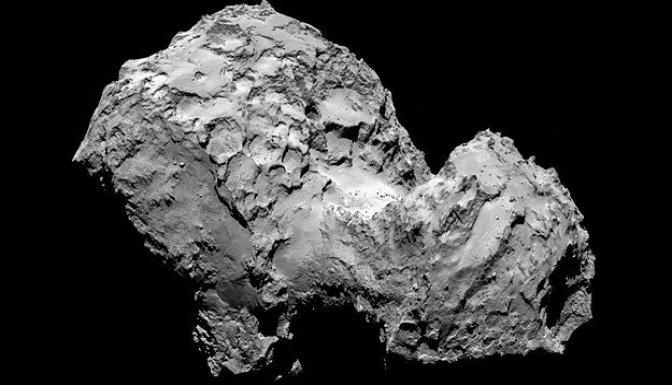 Rosetta uzay aracı yörüngede