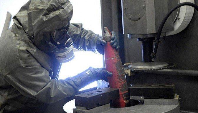 Suriye'nin kimyasal silahları imha edildi