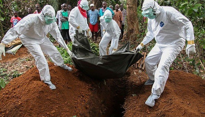 Ebola'dan ölenler bin 427'ye yükseldi!