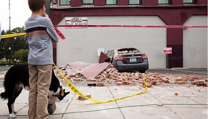 ABD'de 6 büyüklüğünde deprem!