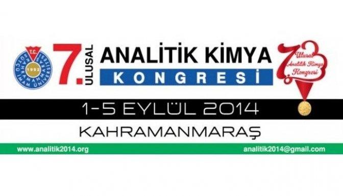 Ulusal Kimya Kongresi 1 Eylül'de Başlıyor
