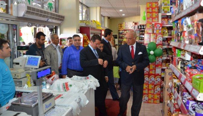 Mehmet Sağlam Türkoğlu'nu ziyaret etti!.