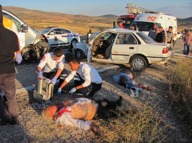 Gaziantep'te kaza: 3 ölü, 1 yaralı