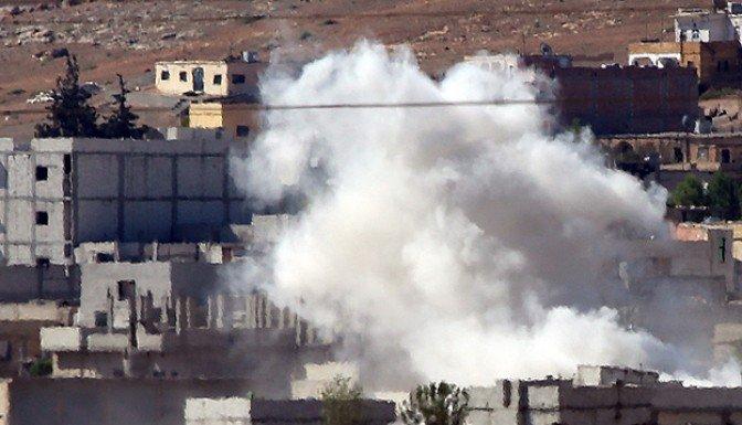 Çatışmalar Kobani'de yoğunlaştı.!
