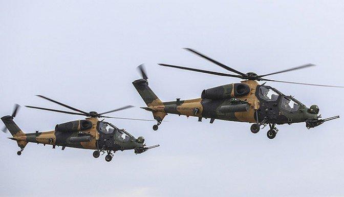 Milli helikopter T-129 ATAK göreve hazır!