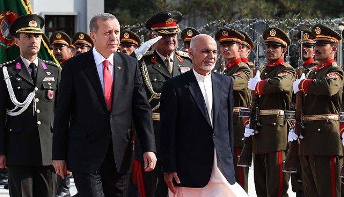 Cumhurbaşkanı Erdoğan Afganistan'da