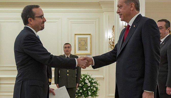 Erdoğan ABD Büyükelçisi Bass'i kabul etti!!