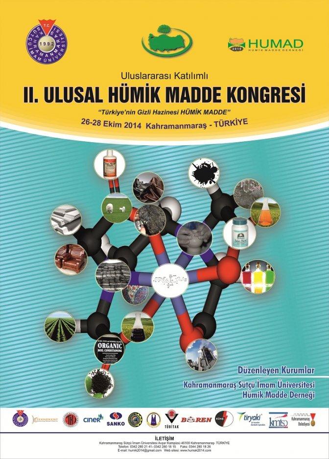 KSÜ'de 2. 'Uluslararası Humik Madde Kongresi'