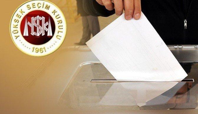 YSK'dan genel seçimler için ilk karar!
