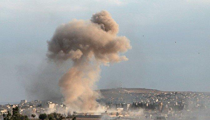Ayn el Arap'ta çatışmalar şiddetlendi!