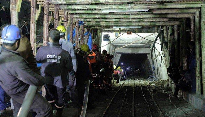 Maden ocağında çalışmalar sürüyor!