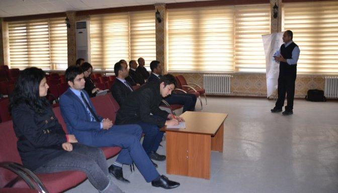 DOĞAKA Andırın'da proje hazırlama eğitimi verdi