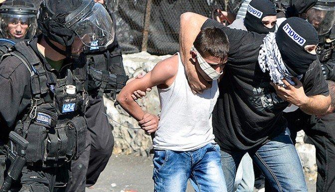 İsrail 20 günde 401 Filistinliyi gözaltına altı