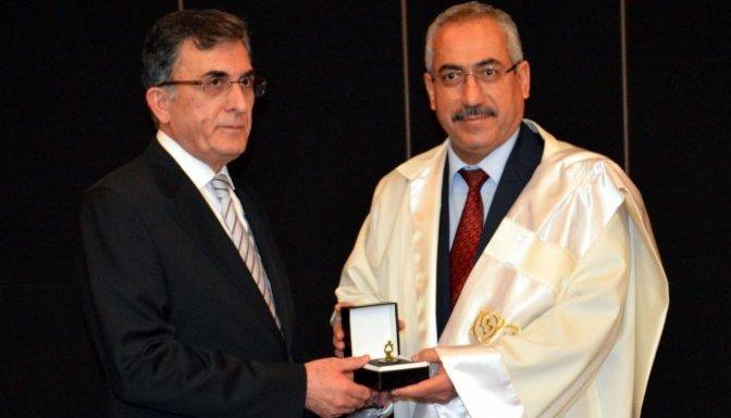 Kahramanmaraş Üniversitesi'nde devir teslim töreni