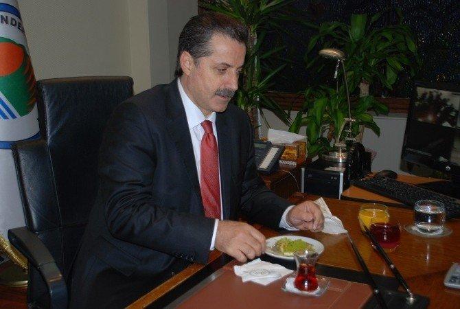 Çalışma Bakanı Faruk Çelik Hatay'da