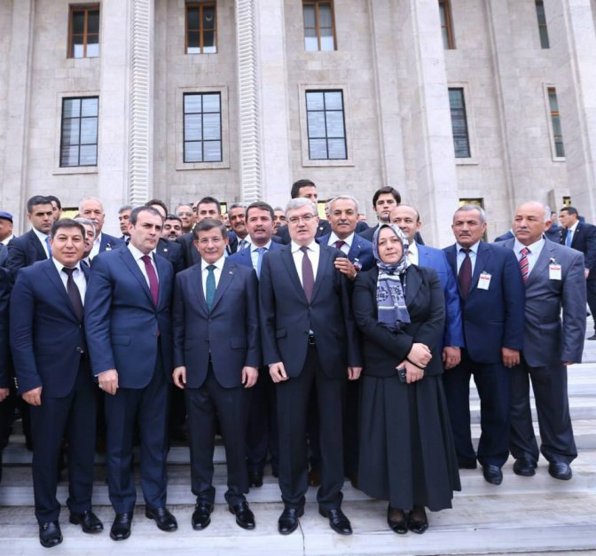 Başkan Okumuş Ankara'da Gruba Katıldı