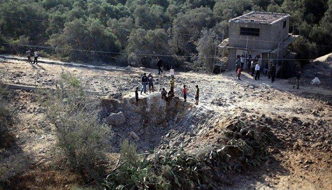 İsrail, Gazze'ye havadan saldırdı!