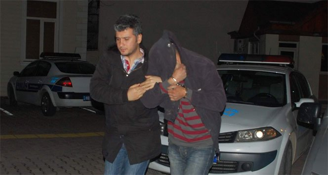 Mazgal hırsızlarına suçüstü: 2 gözaltı