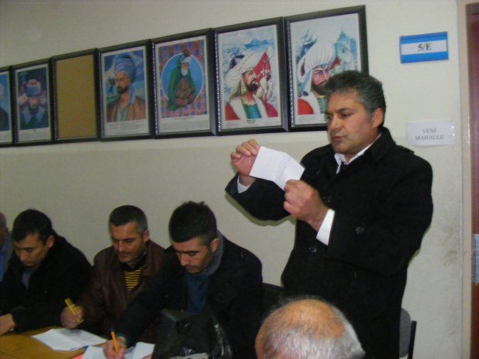 Ziraat Odasında delege seçimleri yapıldı