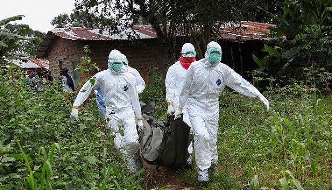 Batı Afrika'da Ebola'dan ölenler 8 bine yaklaştı