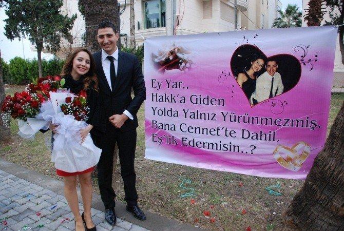 Müzisyenli Sürpriz Evlenme Teklifi