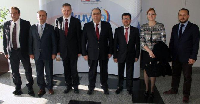 Hırvatistan Büyükelçisi Karaküçük ile Biraraya Geldi