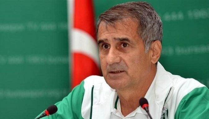 Şenol Güneş: 'Kazanmamız gereken maçta 2 puan kaybettik'!