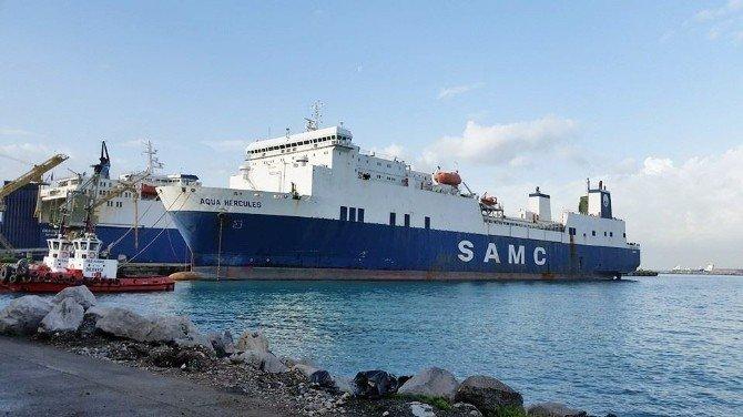 Hayalet Gemi İskenderun Limanı'nda!