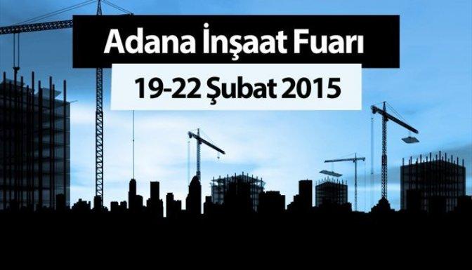 Adana İnşaat Fuarı Açıldı