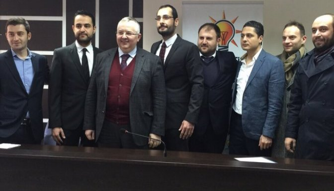Mehmet Cihat Sezal'da AK Partiden aday adayı oldu