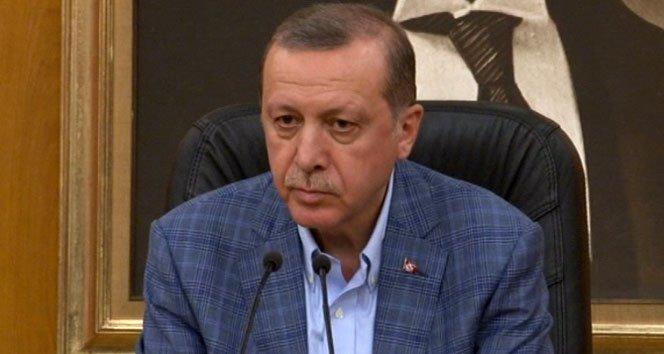 Erdoğan'dan yanıt: Tırnağı bile olamazsın!!