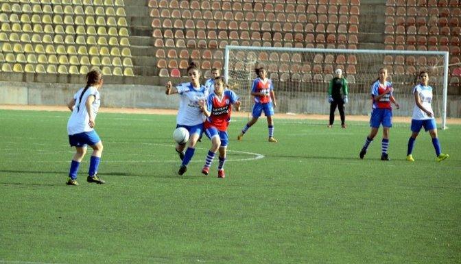 Kadınlar Futbol liginden ilginç pankart
