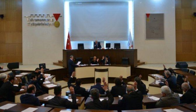 Dulkadiroğlu Belediye Meclisi Mart ayı toplantısı yapıldı