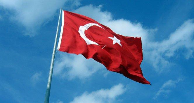 Türk bayrağını indirip yakmaya çalıştılar!