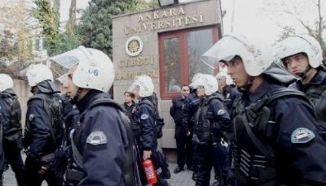 Ankara Üniversitesi'nde olaylar çıktı!