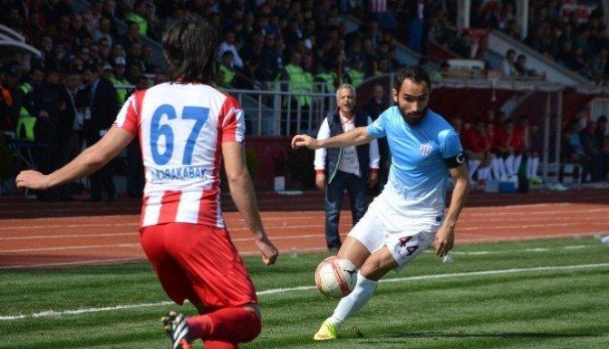 Kahramanmaraşspor 1-0 galip