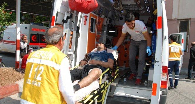 İşçi-müteahhit kavgasında silahlar konuştu: 6 yaralı!