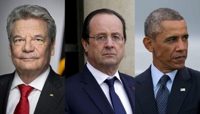 ABD, Rusya, Almanya ve Fransa'ya sert tepki!