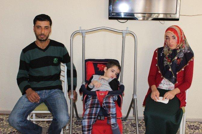 Epilepsi Hastası Yaşar'a Kaymakamlık Sahip Çıktı