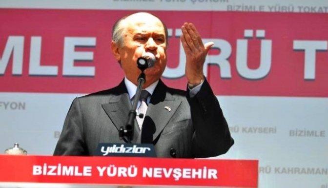 MHP Lideri Bahçeli'den şok iddia!