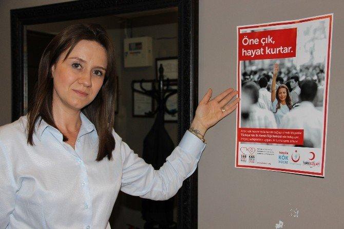 Kök Hücre Bağışı Kampanyasına Destek