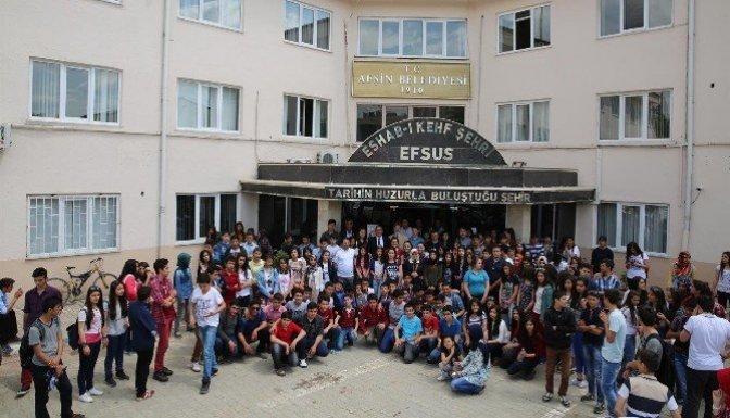 Malatya Anadolu Lisesi öğrencileri Eshab-I Kehf'I ziyaret etti