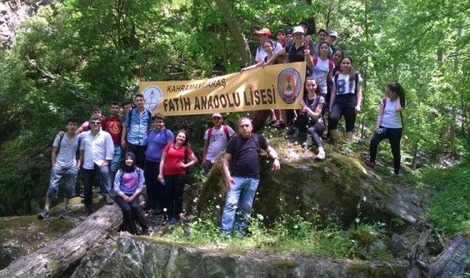 Fatih Anadolu Lisesi Öğrencileri Trekking'de